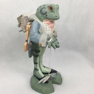 Whimsical Mr. Gardener Frog